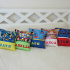 Childrens/Girls/Boys Personalised Name Character Cushion Covers - Gift Idea - $18.93 USD on eBay