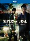 Supernatural: The Complete First Season (Blu-ray Disc, 2010, 4-Disc Set) NEW