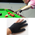 Snooker Pool Billiard Glove Cue Shooter Spandex 3Fingers Glove Left Right Handed