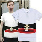 Tide Personality Bone The new 3D T-Shirts Fashion Summer Men's Printing Cool