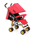 Portable Baby Stroller Infant Trolley Pram Pushchair Buggy With Sunshade HOT