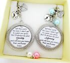 S.Keyring (4)*SET* You left too soon..Daddy & Mummy of an Angel,Baby loss, SIDS