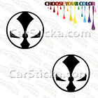 "2 of 5"" Spawn Logo /A car truck comic window stickers decals bumper die cut"