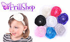 Girls Headband Pearl Women Satin Hairband Baby Lady, Wedding Christening Party