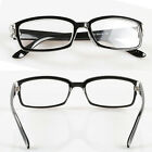 Black Reader Men's Spring Hinge Temple Half Rimless Reading Glasses high quality