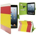 Rainbow Style Litchi Texture Leather Case with Sleep Cover for  iPad 2 3 4