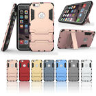 TPU/PC 2in1 Armor Rugged Military Grade Phone Case for iphone SE 6 6s 6/6s plus