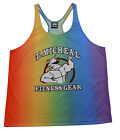 T.Micheal Rainbow Y-Back Tank Top - Style 106R- New