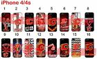 Calgary Flames iPhone 4 4s Case Hard Silicone Case $11.99 USD on eBay
