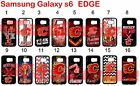 Calgary Flames Samsung Galaxy s6 EDGE Case Hard Silicone Case $12.99 USD on eBay