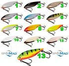 CICADA 9g BLADE BAIT SPINMAD HART Predator Lure Fishing Bass Pike Perch Bass lrf