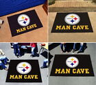 Pittsburgh Steelers Man Cave Area Rug Choose 4 Sizes Fanmats