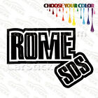 "1 of 5"" Rome SDS /D snowboard car truck window bumper stickers decals die cut"
