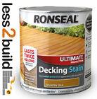 Ronseal Ultimate Protection Decking Stain Various Colours 2.5 Litre