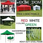 Commercial Quality Popup Waterproof Outdoor Garden Gazebo 3x3m,3x6m Party Tent