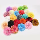 Large PEONY Rose Flower Hair Clip Brooch Fascinator Corsage Wedding Prom UK