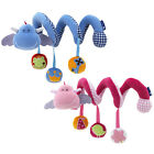 Baby Activity Cot Crib Spiral Rattle Pram Best Car Seat Stroller Doll Infan