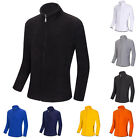 Stylish New Mens Casual Zip Sweatshirt Jumper Coats Jacket Tops Outwear Slim Fit