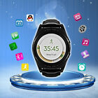 Smart Watch Phone MTK6261A Bluetooth Heart Rate Health Tracker for iOS Android