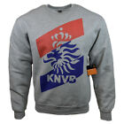 Mens Sweater Jacket Sweatshirt Soccer Fan Club Royal Dutch Team Crew neck NEW