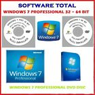 Windows 7 PRO 32-64 BIT SP1 Reinstall, Recovery, Repair DVD  / USB Flash Drive