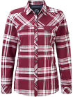 Tog24 Womens Shirt Red Ladies West Long Sleeve Shirt Top Casual New Tog 24