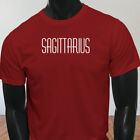 Horoscope Jupiter Sagittarius Zodiac Astrological Sign Mens Red T-Shirt
