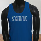 Horoscope Jupiter Sagittarius Zodiac Astrological Sign Mens Blue Tank Top