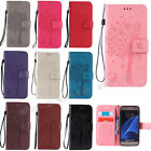 Fashion Flip Pattern Hybrid Stand PU Leather Cover TPU Case Wallet For Samsung K