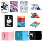 Protector Leather Wallet Card  Stand Case Cover For APPLE iPad Samsung Tablet YB