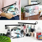 ICONIC Transparent Makeup Bag Clear Cosmetic Pouch Organizer Bag In Bag Storage