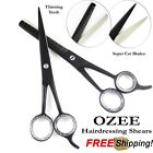 "Professional Hairdressing Barber Hair Cutting Thinning Scissors Set 6"" Sharp"