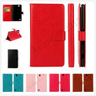 Luxury PU Leather Wallet Case Card Slot Stand Case Cover Skin For Various Phones