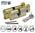 T35/35 (T30/10/30) Thumb Turn Anti Snap Euro Cylinder Lock - High Security