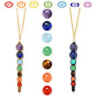 7 Chakra Beads Pendant Necklace Women Fashion Necklaces for Yoga