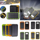 OutDoor 300000mAh Solar Power Bank Portable External Battery Portable Charger US