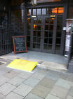 Roadworks Wheelchair Access Kerb Ramp, SWL 750kg, Footpath Ramp , 1 step ramp