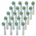 Electric Tooth brush Heads for Braun Oral-B 3D WHITE PRO BRIGHT USA 18A-5X NERT