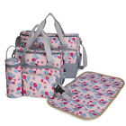 5 Piece Set Baby Diaper Nappy Large Backpack Changing Bag Mommy Shoulder Bags