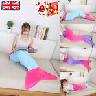 Flannel Soft Mermaid Tail Fish Bag Fleece Blanket snuggle-in Bed Costume Adult