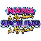 NANA IS MY NAME SPOILING IS MY GAME LIGHT BLUE TEE SIZES SMALL-4XL