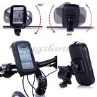 Motorcycle Bicycle Handlebar Holder Mount Waterproof Bag Case For Cell Phone GPS