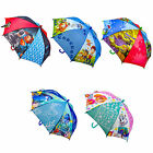 "CHILDREN'S OFFICIAL LICENSED DISNEY & TV CHARACTER 16"" UMBRELLA'S BRAND NEW"