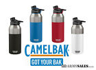 Camelbak Chute Vacuum Insulated Stainless 1.2L Bottle - Black, Red or Blue