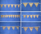 Wow! WEDDING BUNTING hessian burlap SHABBY DECORATION vintage chic DRINKS or BAR
