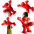 Novelty Little Red Man ABS Beer & Red Wine Bottle Opener Bottle Stopper Tools of