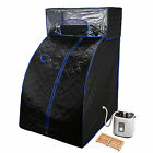 Portable Steam Sauna Detox Indoor Home Steamer Spa Loss Weight Body Slimming 2l