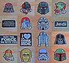 Star Wars Patch New Iron On Sew Collectible Variety Loungefly Vader Yoda Trooper