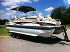 2009 Regency Edition 24FT Pontoon Boat 90HP Mercury 4 Stroke ONLY 134HRS Clean!