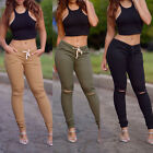 Hot Women Casual Slim Skinny Leggings ❀ Stretchy Pants Sexy High Waist Trousers